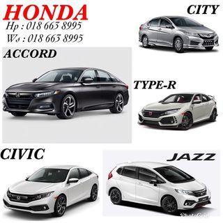 HONDA JAZZ CITY ACCORD CIVIC TYPE-R