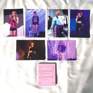 WTT/WTS lisa postcard set - blackpink 2018 tour in your area seoul dvd