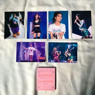WTT/WTS jisoo postcard set - blackpink 2018 tour in your area seoul dvd
