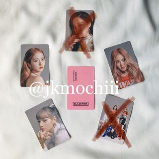 WTT blackpink samsung galaxy friends official photocard