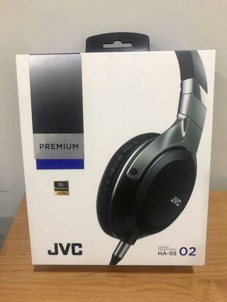 JVC HA-SS02 Hi-Res Audio 立體聲 耳罩式耳機 近全新