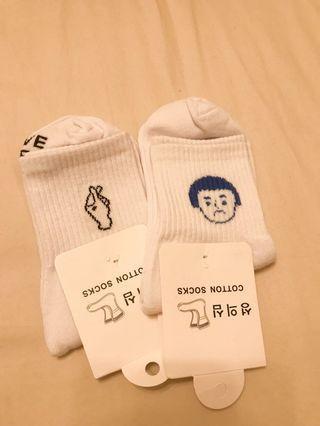 日系中統襪