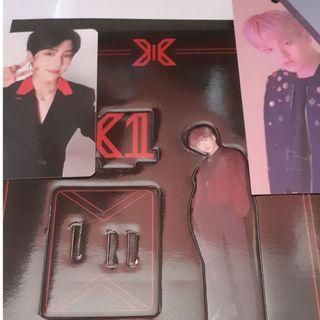 [WTS] X1 Quantum Leap Album AR PC, Standee, Bookmark and Postcard