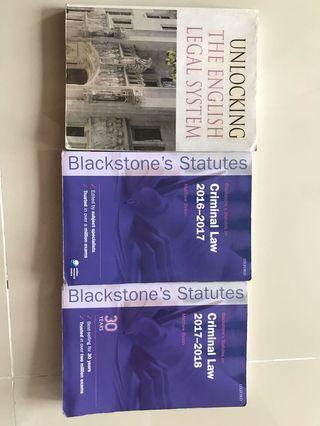 Statutes and unlcoking