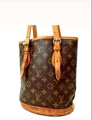 Authentic LV Bucket Bag