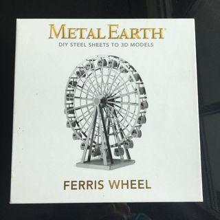 Authentic Metal Earth Ferris Wheel 3d Model Kit