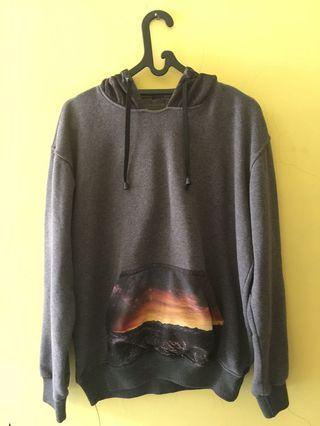Jacket hoodie merk house of smith size L
