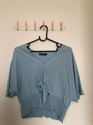 Kitschen Blue Top size L
