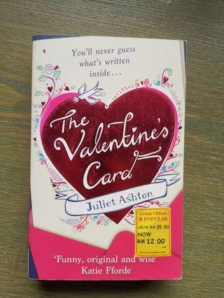 The valentines card