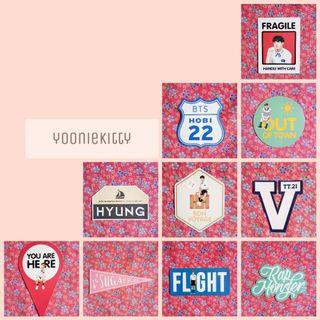 [WTS] BTS Summer Package 2015 : BTS in Kota Kinabalu (Case Stickers)