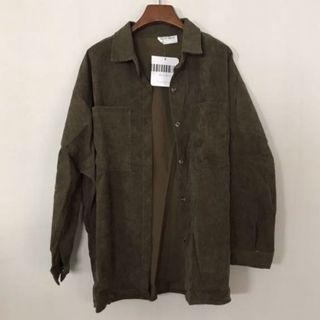 🆕🇰🇷🇨🇳 bf khaki green oversized outerwear