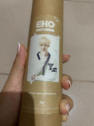 Sehun poster limited edition