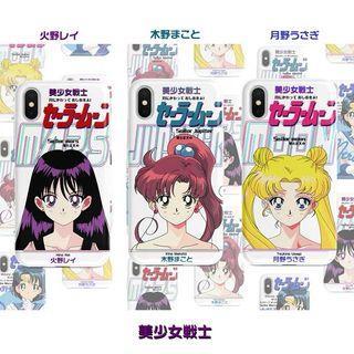 《預購》蘋果手機-日本卡通美少女戰士月光仙子、火星、木星光面手機殼