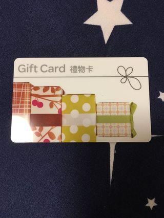 家樂福 禮物卡 2000元