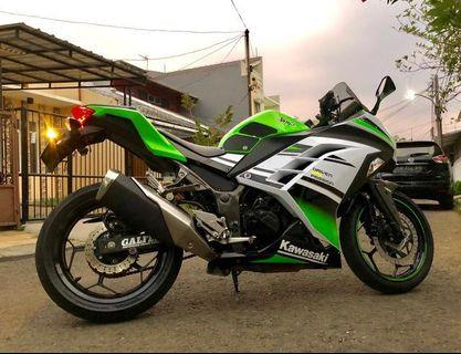 For Sale! Kawasaki Ninja 250fi ABS Special 30th Aniversary Edition 2015
