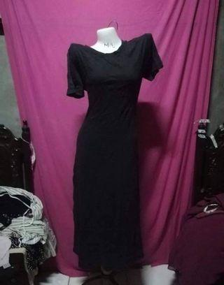 CL Tee Shirt Maxi Dress fits M to XL ( preloved )