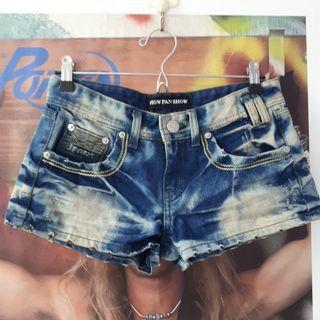 牛仔短褲M號(歡迎以物易物)