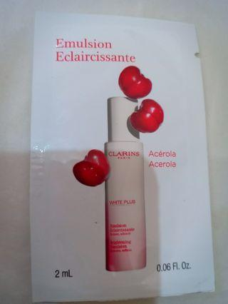Clarins whitening emulsion