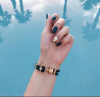 海軍baby blue手環
