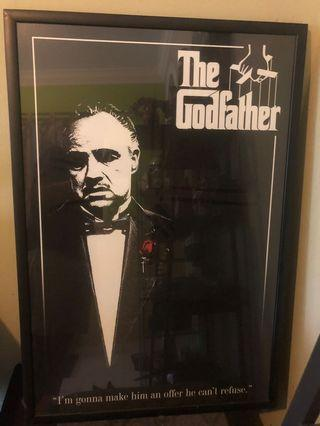 The godfather poster with frame (ikea)