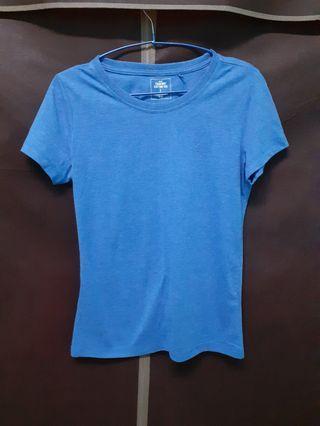 藍紫色短袖t 上衣
