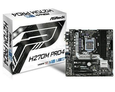 全新華擎 ASRock H270M Pro4 1151 高階主機板 支援6代 7代 CPU