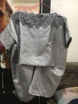 AMR The Label Baju Bodo Silver