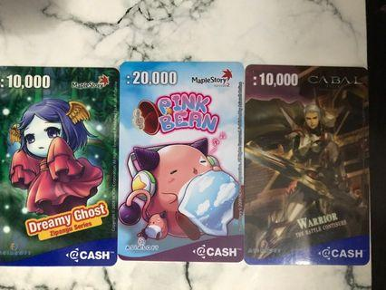 MapleStory @CASH Card Collection