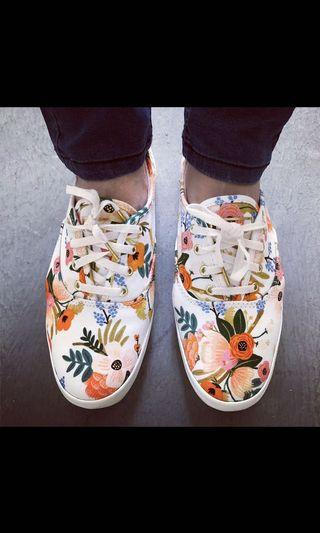 Superga floral shoes