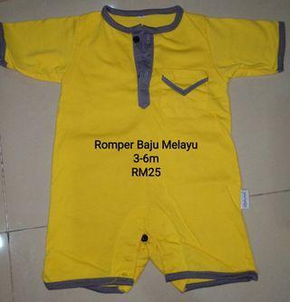 Baju Melayu Romper