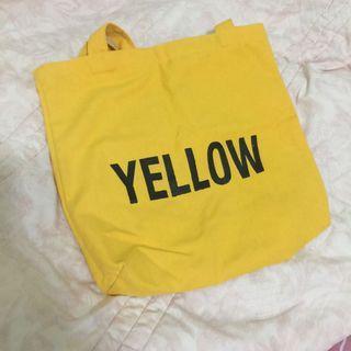 Yellow帆布包