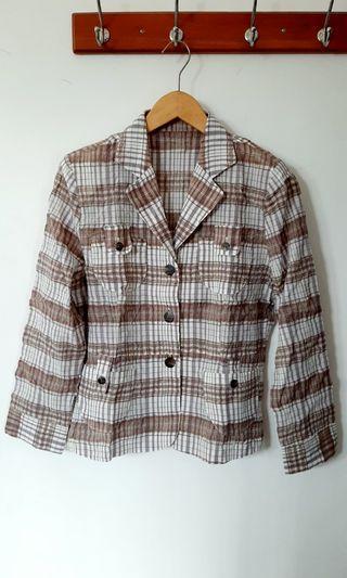 Vintage Blazer / kemeja blazer / kemeja kerja