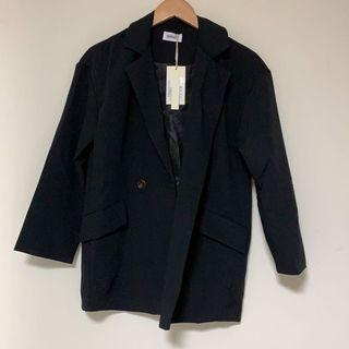 全新 黑色西裝外套