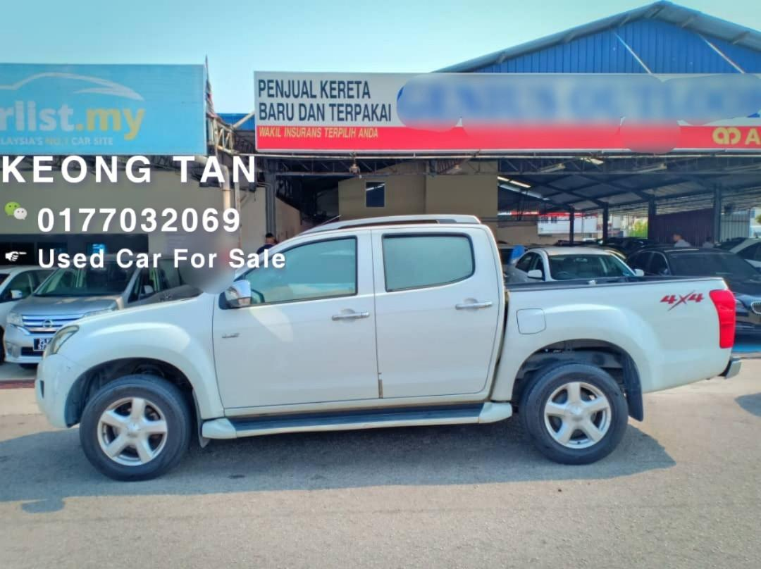 2013TH🚘ISUZU DMAX 2.5AT 4X4 VGS DIESEL ENGINE TURBO🎉Cash💰OfferPrice💲Rm53,800 Only‼LowestPrice InJB‼Interested Call📲0177032069 KeongForMore🤗