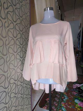 Top blouse Peach