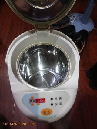 (tcm訂)捷寶電熱水瓶3.3l