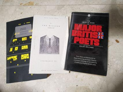 Assorted books in great condition