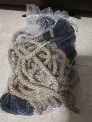 Assorted ropes jupe and cotton