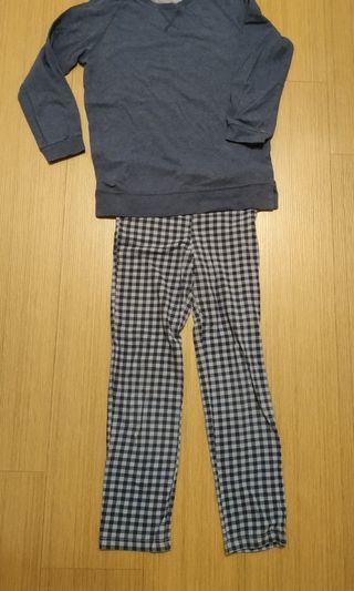 Uniqlo 兒童居家服 L號 / 140cm