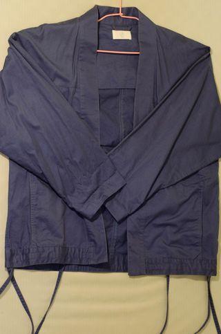Plain me普魯士藍道袍