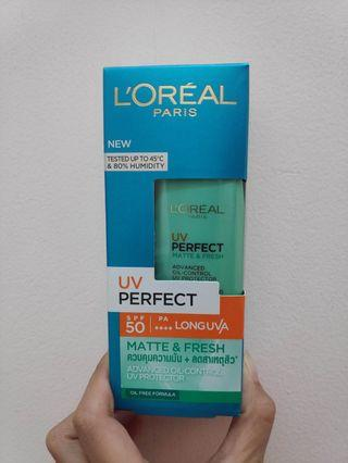 Loreal UV Perfect Matte & Fresh