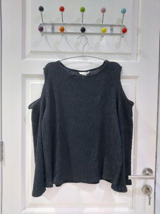 H&M Black Blouse