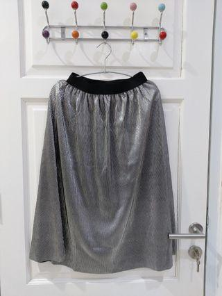 Cotton On Silver Skirt