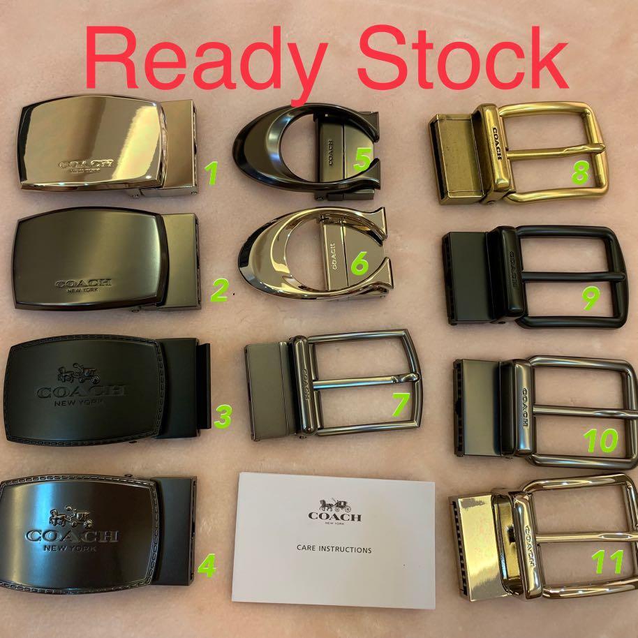 (220919)Ready Stock Authentic coach men belt accessories wallet purse lady wallet wristlet Tory Burch bag Marc Jacobs collection belt Kate spade