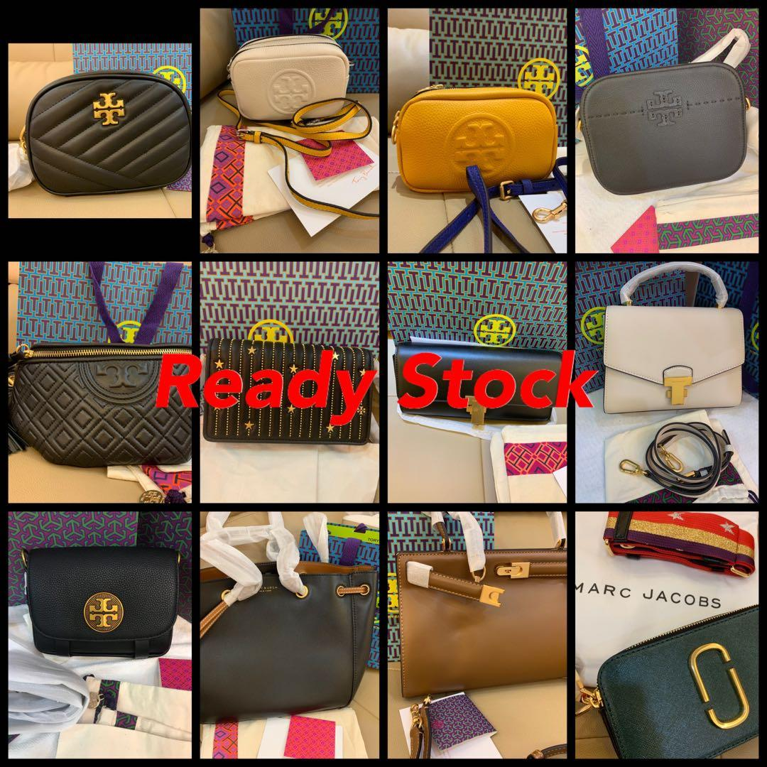 (22/09/19)Ready Stock Authentic Tory Burch women handbag sling holder lanyard wallet wristlet crossbody coach clutch backpack