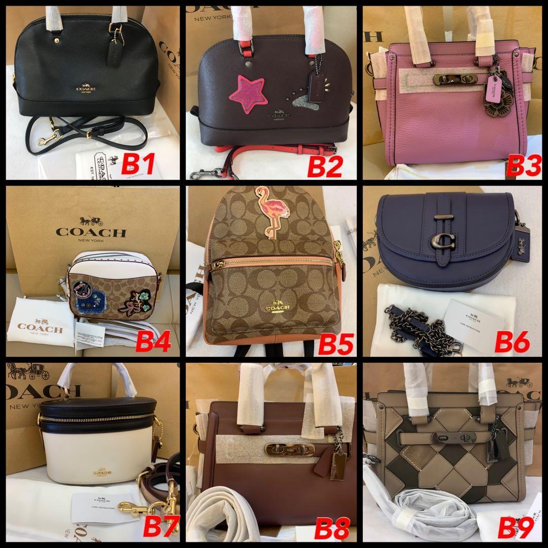 (22/09/19)Ready Stock Authentic Tory Burch women handbag sling holder lanyard wallet wristlet crossbody coach clutch backpack