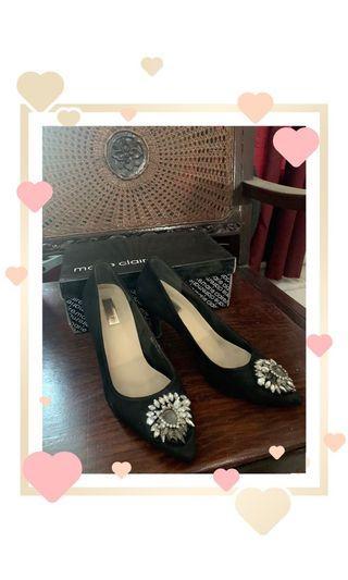 Marie Claire Heels Black ORI 💯