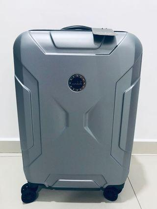 Condotti Grey Luggage Bag