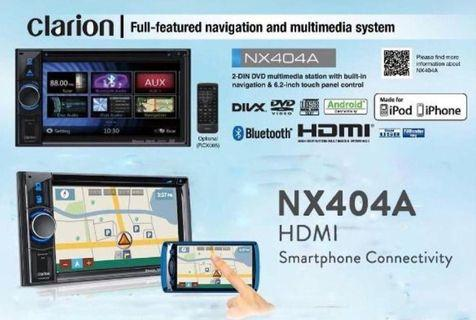 CLARION NX404A