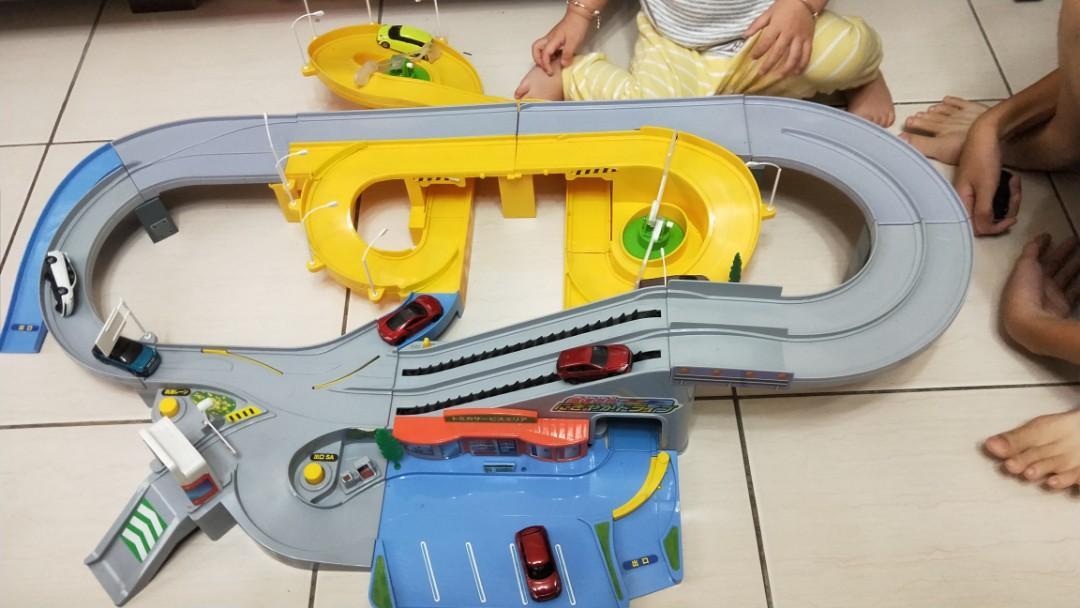 Tomica 多美小汽車絕版 收藏紀念軌道 兩組合售